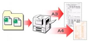 帳票ファイルの一括印刷