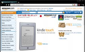 米Amazonのサイト