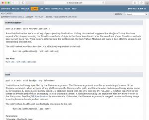 Java11のAPIドキュメント